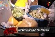 ¿Qué comen nuestros niños? Operativos en los kioskos de los colegios
