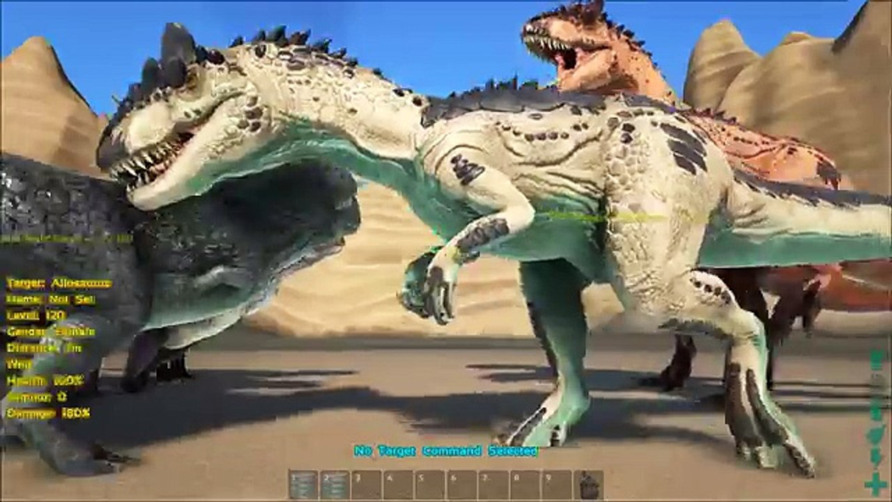 Ark Dino Commands