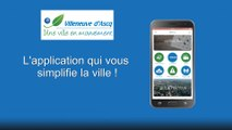 Téléchargez gratuitement l'application mobile de la Ville de Villeneuve d'Ascq