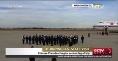 Chinese President begins second leg of trip