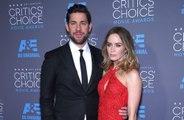 John Krasinski and Emily Blunt offer fans double date
