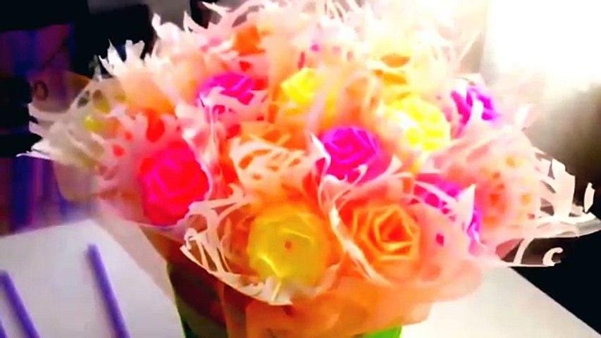 Cara Membuat Karya Bunga Dari Sedotan Plastik Dunia Kreatif Video Dailymotion
