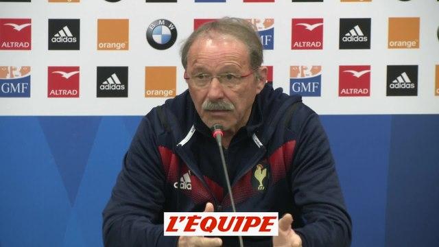 Brunel «Il y a eu trop de focus sur Slimani» - Rugby - Tournoi - Bleus