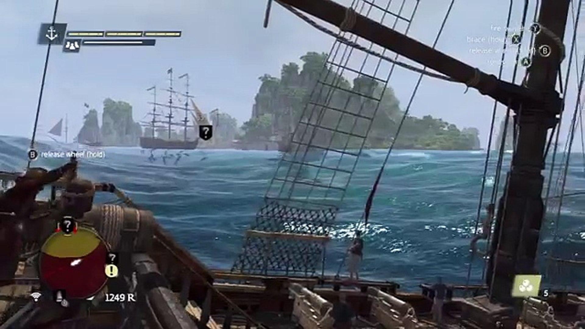 Assassins Creed 4 Black Flag Man O War lvl 60 How To Take