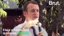 """Emmanuel Macron à des étudiants indiens : """"Ne jamais respecter les règles"""""""