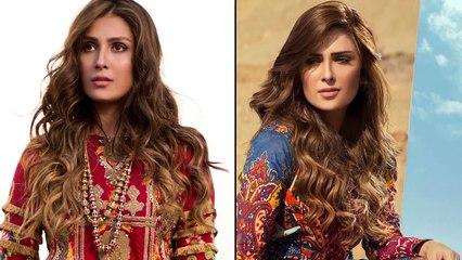 Ayeza Khan gets a Hair Makeover