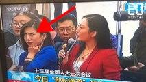 Une journaliste chinoise se grille en direct - Le Rewind du jeudi 15 mars 2018