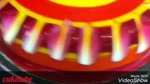 AMAZING colourful birthday cakes   colourful glaze   chocolate garnishing must watch