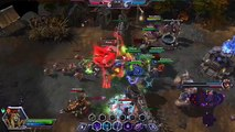 Heroes of the Storm Sylvanas Ranked Gameplay - Damage Build - Haunted Mines