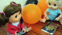 Baby Alive Moll is Having a Halloween Party, Should She Invite Sara?