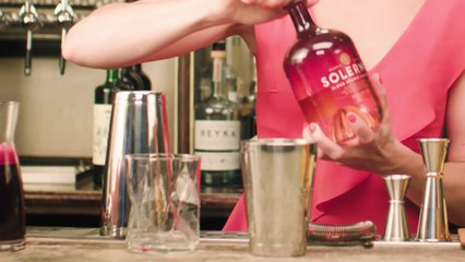 The Power of Red Cocktail - The Proper Pour with Charlotte Voisey
