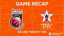 Highlights: Brose Bamberg - Anadolu Efes Istanbul