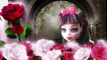 DRACULAURA AND JACKSON FALL IN LOVE - Monster High Dolls and Toys Video The Enchanted Tower