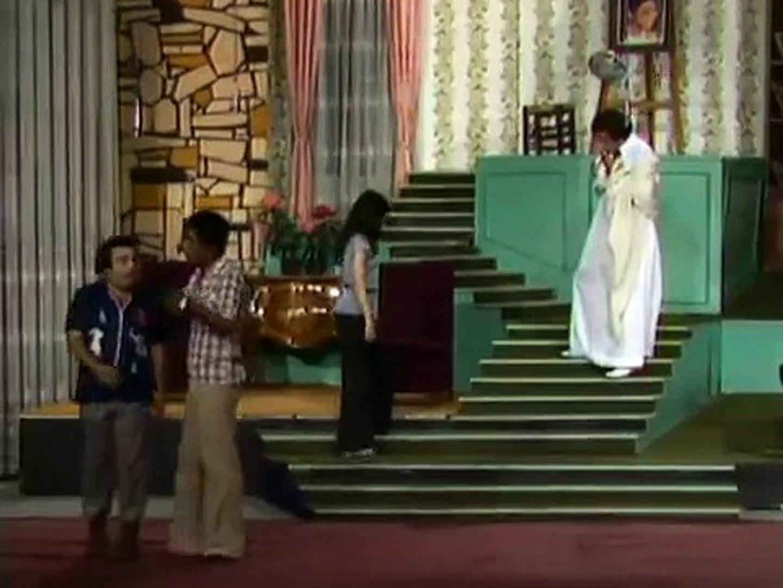 ابداع سعيد صالح ويونس شلبى في  مسرحية العيال كبرت