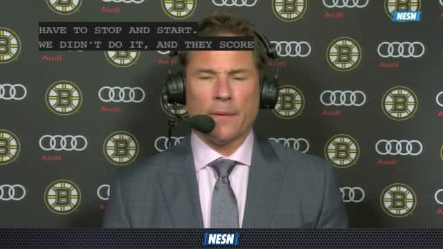 Bruins Overtime Live: Bruce Cassidy Believes Poor Defense Put Bruins In A Hole