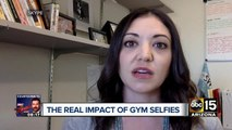The real impact of gym selfies posted online
