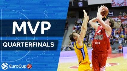 7DAYS EuroCup Quarterfinals MVP: Dmitry Kulagin, Lokomotiv Kuban Krasnodar