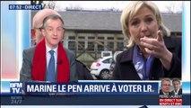 """EDITO -  Marine Le Pen """"court derrière Marion Maréchal-Le Pen"""""""
