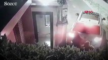 Lüks sitede kasa hırsızlığı kamerada