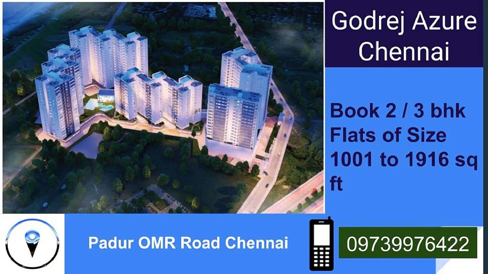 Godrej Azure Upcoming Residential Property In Padur Chennai Video