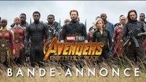 Avengers: Infinity War Marvel Bande Annonce #2 VF