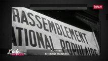 Le Rassemblement national de Marine le Pen rappel le Rassemblement national populaire des années 40.