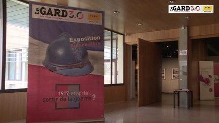 """présentation expo """"1917 et après: sortir de la guerre ?"""""""