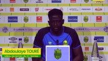 Abdoulaye Touré avant FC Metz - FC Nantes