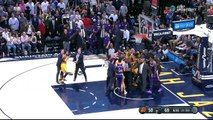 Jared Dudley, Marquese Chriss shove Ricky Rubio in big Suns-Jazz altercation | ESPN
