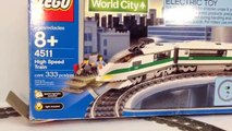 LEGO 4511 High Speed Passenger 9V Train from 2003 Review and Compare