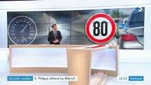 Sécurité routière : 80 km/h pour sauver des vies