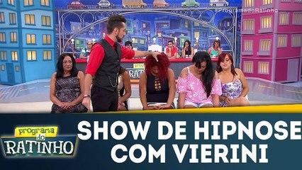 Show de hipnose com Vierini
