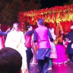 Syra and Shahroz dancing in a wedding