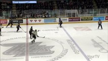 OHL North Bay Battalion - Battalion score on odd bouncing-puck play