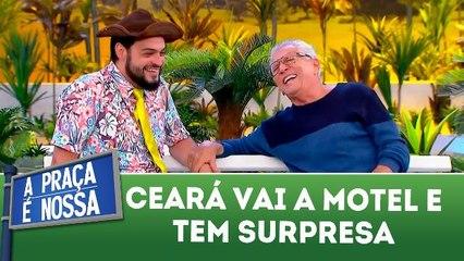 Ceará vai a motel e tem surpresa