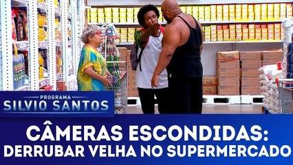 Câmeras Escondidas: Derrubar Velha no Supermercado - 18.03.18