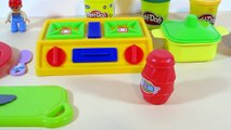 Baked Velcro Toys Chicken Rice Peas Carrots Play Doh Cooking Kitchen Cooking Playset for Children