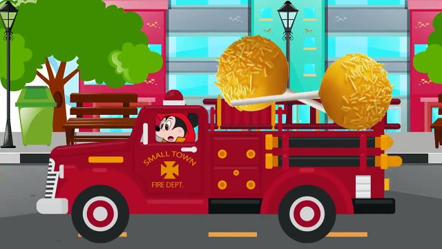Mickey Mouse baby Falls into deep sewer hatch  Fireman Saves and Gives him Tasty Cake Pops by Mickey CartoonTv