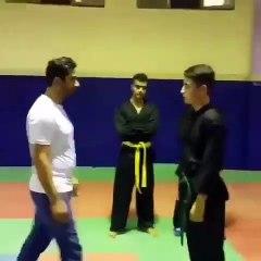 Un expert en art martiaux