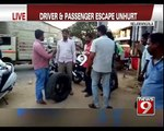 Major accident averted on NH in Nelamangala - NEWS9
