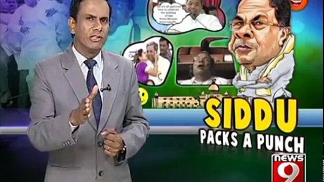 SIDDHU PACKS A PUNCH - NEWS9