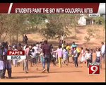 Students paint the sky with colourful kites - NEWS9