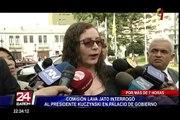 Comisión Lava Jato interrogó al presidente Kuczynski en Palacio de Gobierno