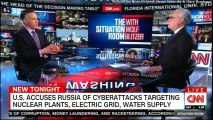 NEW TONIGHT: U.S. Accuses Russia of Cyber Attacks targeting Nuclear Plants, Electric Grid, Water Supply. #Russia #NuclearAttacks #VladimirPutin #Putin #CNN #News