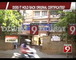 JP Nagar, is Oxford College Harassing students- NEWS9