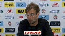 Klopp «City, un tirage rêvé...pour les fans de United !» - Foot - C1 - Liverpool