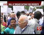 Bengaluru Residents Up in Arms Against Brigade Gateway - NEWS9