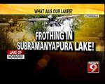 Frothing in Lake Causes Fear in Residents - NEWS9