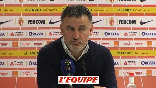 Galtier «On offre des buts» à Monaco - Foot - L1 - LOSC
