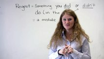 English Speaking - Mistakes & Regrets (I should have studied etc.)